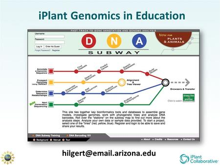 IPlant Genomics in Education