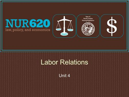 Unit 4 Labor Relations. Labor Issues  Vicarious liability: one party is responsible for the actions of another  Employer liable for damages  Encourages.