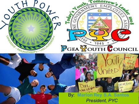 "By: Marlon Rey S.A. Santos President, PYC. Here comes your footer  Page 2 PREAMBLE "" To promote our moral, spiritual, social, economic well-being and."