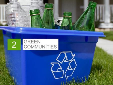 GREEN COMMUNITIES 2.  Sustainability  Smart Growth In This Chapter 2-1.
