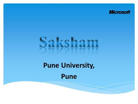 Pune University, Pune.  Location : Pune University  State: Pune  Batch Start Date: 11-11-2013  Batch End Date: 20-11-2013  No. of Participants: 23.