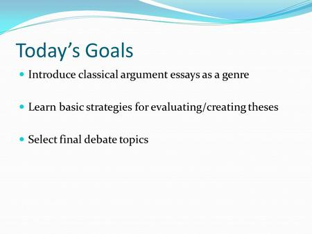 evaluation argument essay topics Outstanding evaluation essay topic ideas to choose from are you feeling worried because you wish to pick an outstanding topic for your evaluation essay but you don.