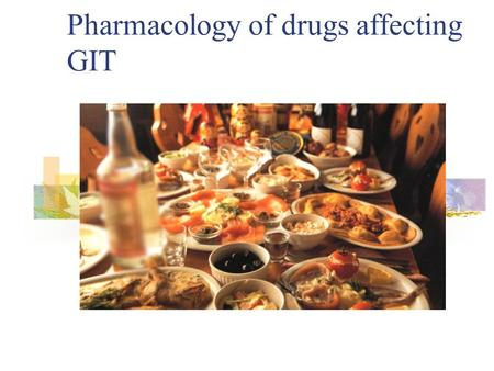 Pharmacology of drugs affecting GIT. Peptic Ulcer Disease Imbalance between mucosal defensive factors and aggressive factors Major defensive – mucus and.