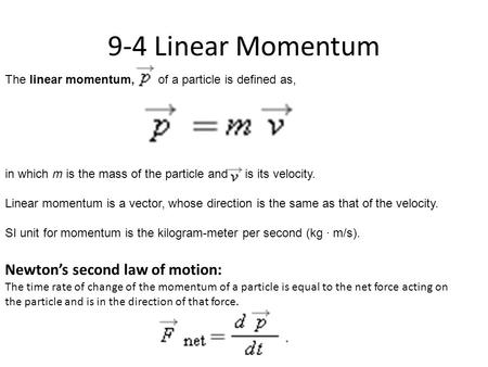 Review newton s laws momentum what 3 factors affect the - Momentum task force madrid ...