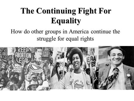 asian american struggles for equality in the As an asian american civil rights advocate and staff member at asian  asian  americans dismissed marriage equality and lgbt struggles as.