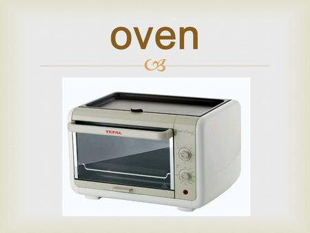  oven.  sink  soap  fridge  trash can  table.
