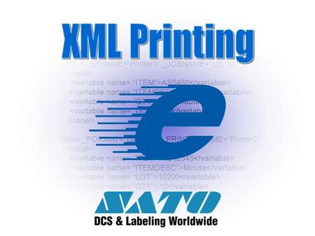 "www.satoamerica.com <labels _FORMAT=""Materiallabel"" _QUANTITY=""1"" _PRINTERNAME=""Printer1"" _JOBNAME=""LBL101""> AS5488 Desktop 2 EA AS12345 Mouse 10200 10."