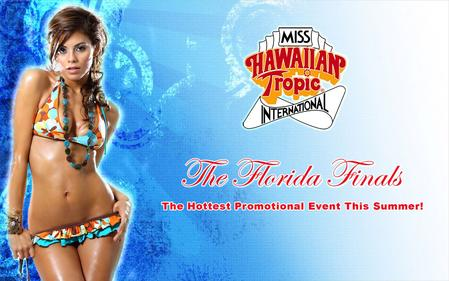 The Miss Hawaiian Tropic International is the largest model search pageant system in the world, with over 54 countries competing with beauty and glamour.