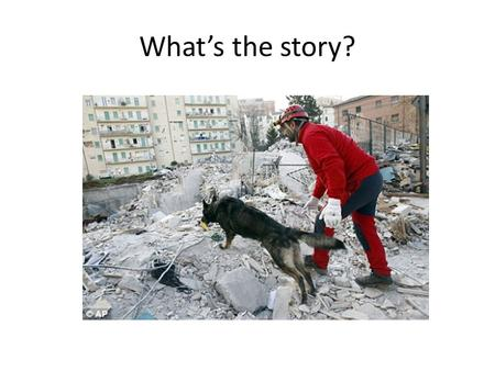 What's the story?. How can we reduce the effects of an earthquake?