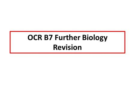 OCR B7 Further Biology Revision. Learning Outcomes MUST describe the structure of a joint. SHOULD explain how properties of ligaments, cartilage and tendons.