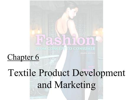 Textile Product Development and Marketing