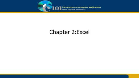 Chapter 2:Excel. Determining Results with the if Function =IF(logical_test, value_if_true,value_if_false) The IF function has three arguments: – A condition.