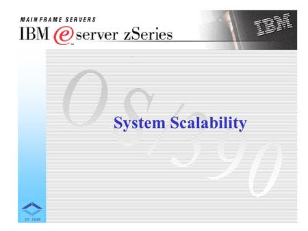 System Scalability. 1. General Observations The choice of platform for an application should consider the ability to grow the application with more users.