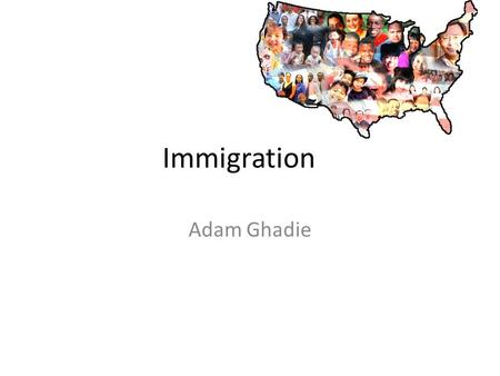 Immigration Adam Ghadie. Halloween Halloween shows that our country has a lot of fun events. We dress up in costumes of our choice and go from house to.