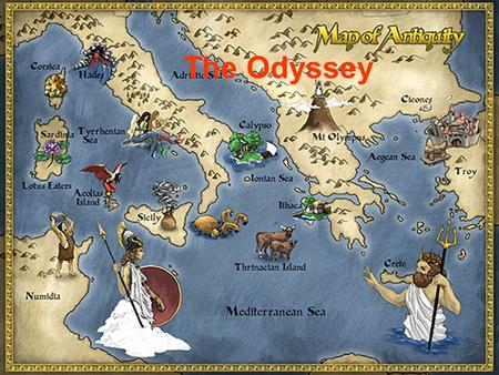 The Odyssey. Book I: Invocation to the Muse The narrator is asking the muses for inspiration in telling this epic tale. 10 years after the finale of the.