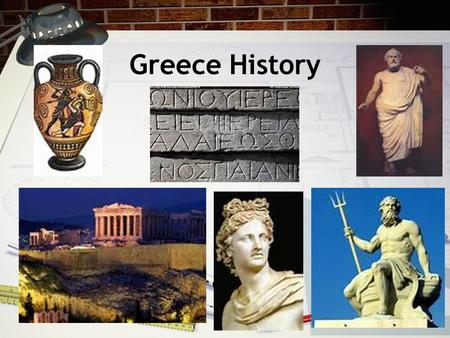 Greece History. Geography of Greece Greece is a small country in Europe near the Mediterranean Sea. The main part of Greece is on a peninsula. The rest.