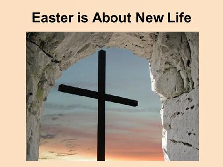 Easter is About New Life. Ted Koppel What is largely missing in American life today is a sense of context, of saying or doing anything that is intended.