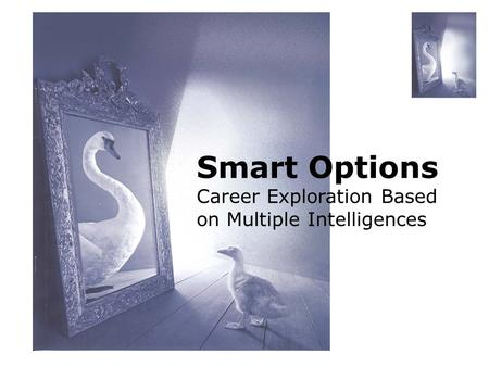 Smart Options Career Exploration Based on Multiple Intelligences.