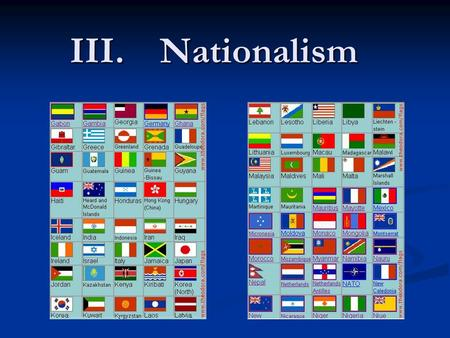 What is American Nationalism?