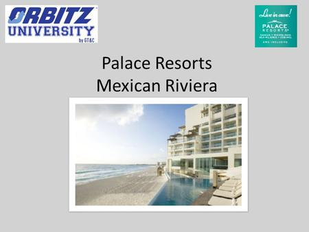 Palace Resorts Mexican Riviera. Palace Resorts Palace Resorts offers 9 oceanfront resorts along the turquoise waters of the Caribbean Sea. Palace Resorts.
