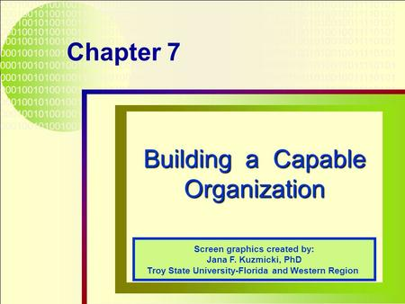 building an organization capable of good Do you want to know how to build trust in your organization  hire and promote  people, who are capable of forming positive, trusting.