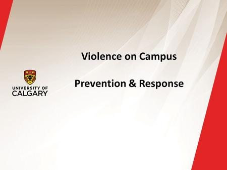 Violence on Campus Prevention & Response. Active threat defined An active threat can be defined as: A person whose immediate activity can cause death.