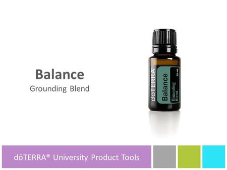 dōTERRA® University Product Tools