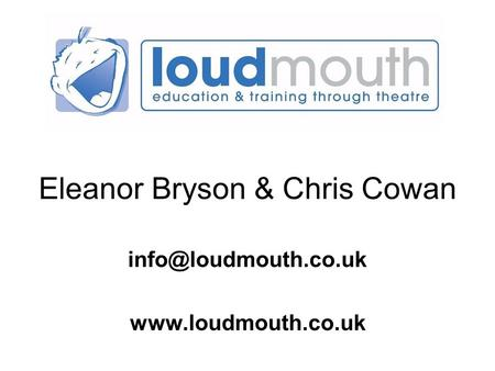 Eleanor Bryson & Chris Cowan