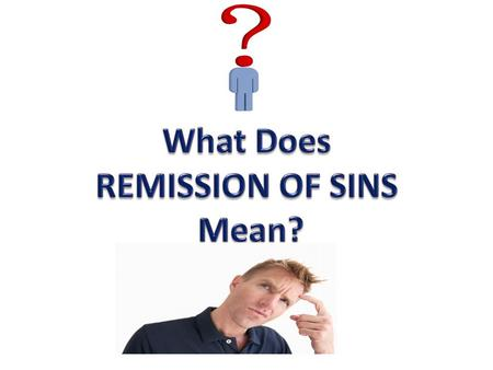 "Remission of Sins ""Justified"" – Through Christ (Acts 13:38-39)"