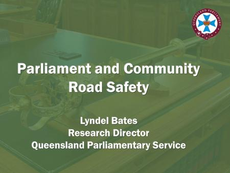 Overview Strengths of parliamentary committees Overview of reformed committee system Example of previous road safety inquiry Becoming involved.