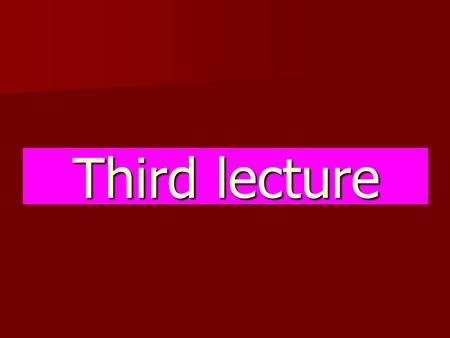 Third lecture. Composition of the blood 1-RBCs (erythrocytes). 2-WBCs (leukocytes).  Granulocytes.  A granulocytes. 3-Thrombocytes (Platelets).