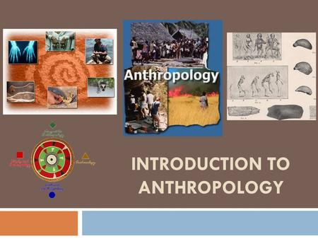 INTRODUCTION TO ANTHROPOLOGY. What is Anthropology?  Anthropology is the broad study of humankind around the world and throughout time.  It is concerned.