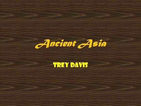 Ancient Asia Trey Davis. Artifacts: Tools Of Discovery Some artifacts found by archaeologists are: Weapons.