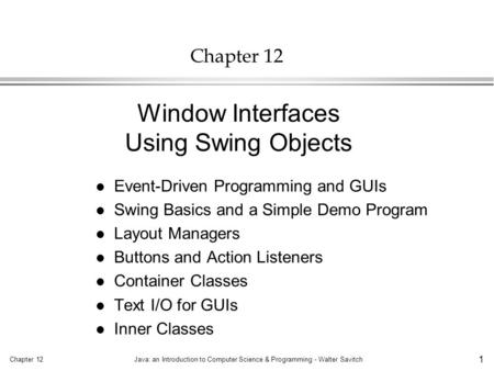 the graphical user interface computer science essay A graphical user interface is known to basically refer to an interface emanating from a computer program that challenges a computer' graphics ability to ease.