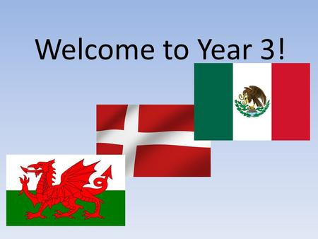 Welcome to Year 3!. Major topics of the year! Term 1 and 2 - Our first topic will lightly touch on the Stone Age (to provide a basic chronology). We will.