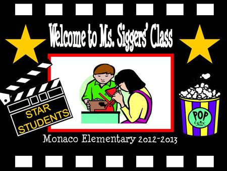 Monaco Elementary 2012-2013. This is my first year in the classroom. I was an intern at Monaco last year. I love what I do!