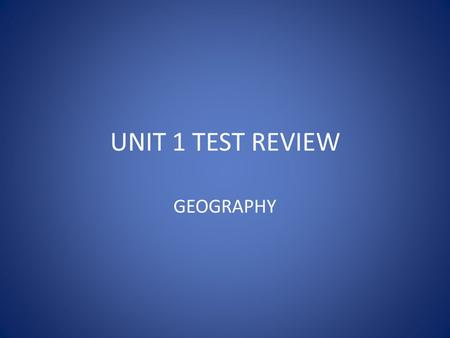UNIT 1 TEST REVIEW GEOGRAPHY. WHERE IS GEORGIA ? GA is located in which hemisphere(s) ?