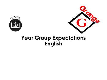 Year Group Expectations English. Year 1 3 Assessing Reading: Meeting Year 1 Expectations Year 1 Expectations: Word Reading Match all 40+ graphemes to.