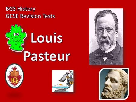 "1) What did people believe about disease and germs before Pasteur? A specific phrase is needed, and you need to explain it. [2] ""SPONTANEOUS GENERATION"""