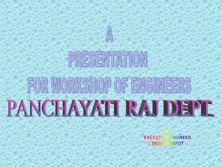 FOR WORKSHOP OF ENGINEERS