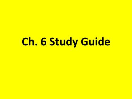 Ch. 6 Study Guide. Headright System  Each head of family received 200 acres.  50 additional acres were given for each family member.  10 additional.