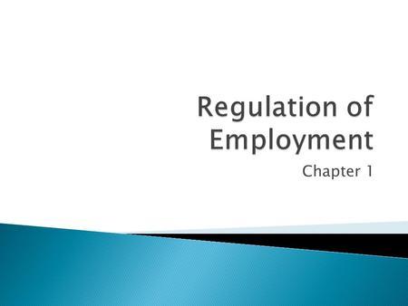 understanding the employment relationship