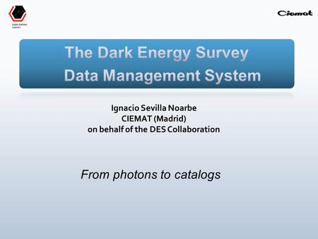 From photons to catalogs. Cosmological survey in visible/near IR light using 4 complementary techniques to characterize dark energy: I. Cluster Counts.