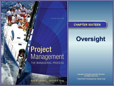 Project Management 6e..