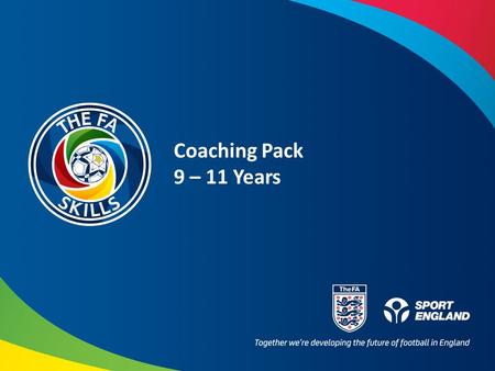 Coaching Pack 9 – 11 Years. What Am I Coaching Today? What Might the Players Learn or Get Better at? TechnicalPsychological example PhysicalSocial example.
