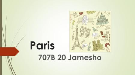 Paris Paris 707B 20 Jamesho.