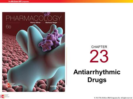 23 Antiarrhythmic Drugs.