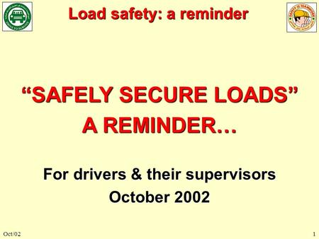 For drivers & their supervisors