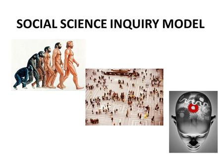 SOCIAL SCIENCE INQUIRY MODEL