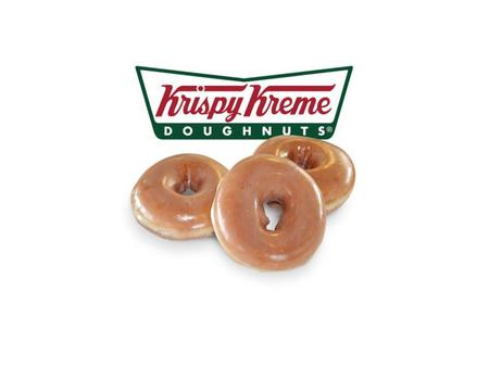 About Doughnuts, Hot and Cold Beverages Original Glazed ® Revenue $403MM 711 stores (477 international, 234 domestic) 21 Countries Traded under KKD on.